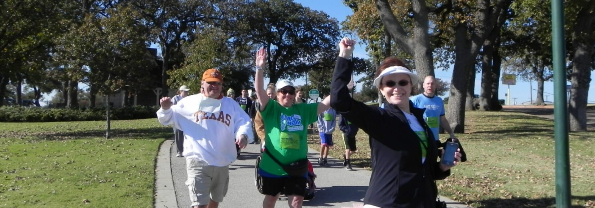 North Texas MG Walk 2014