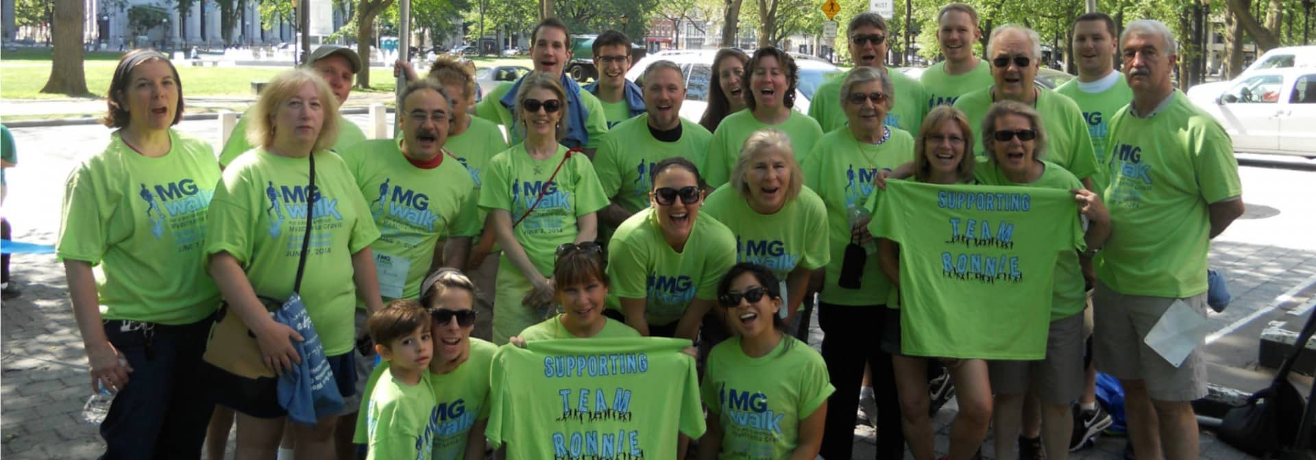 Connecticut MG Walk 2015