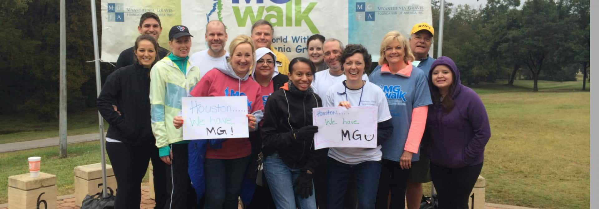 South Texas MG Walk 2015