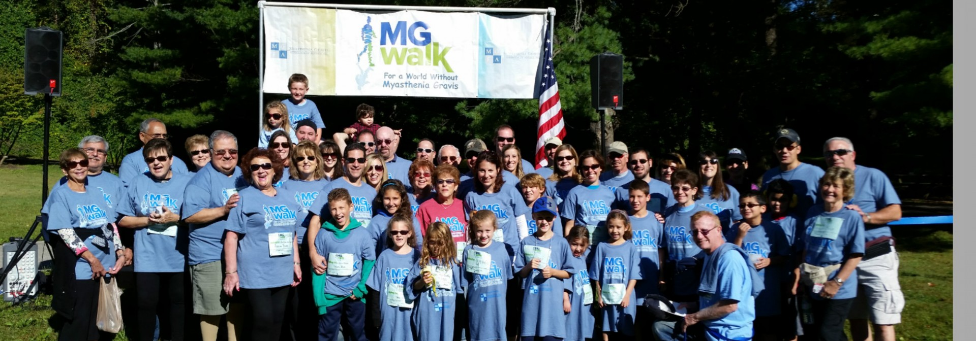 Delaware Valley MG Walk 2015