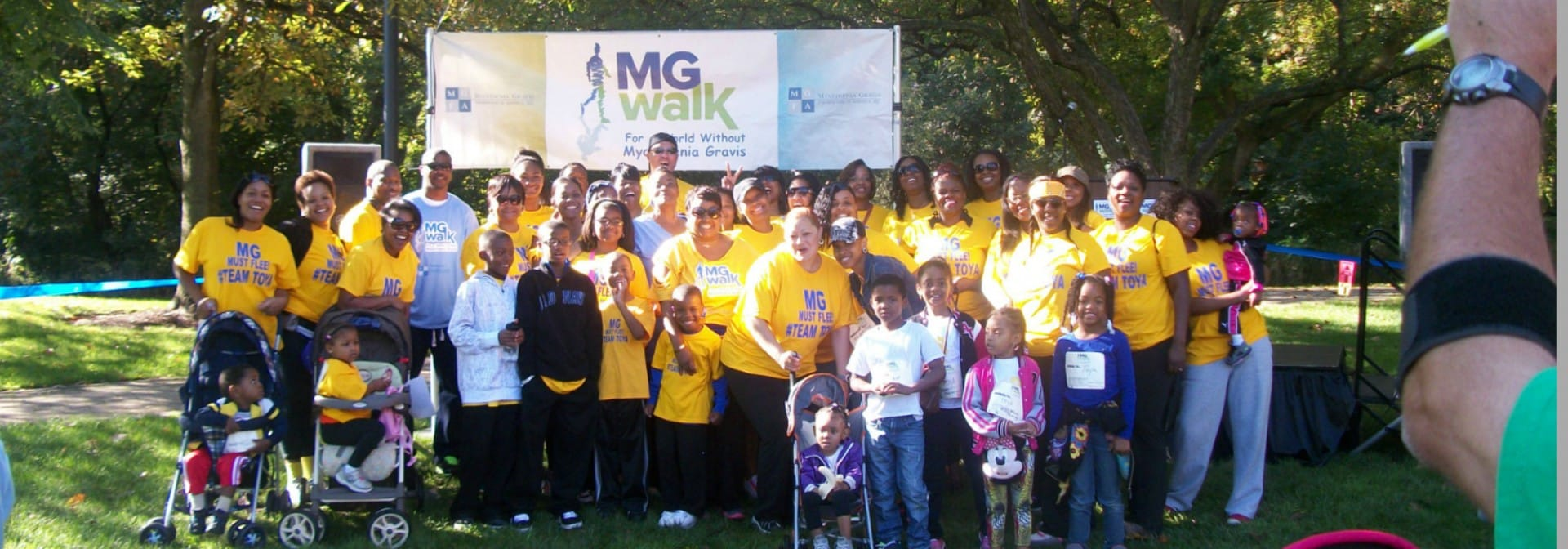 Northern Illinois MG Walk 2015