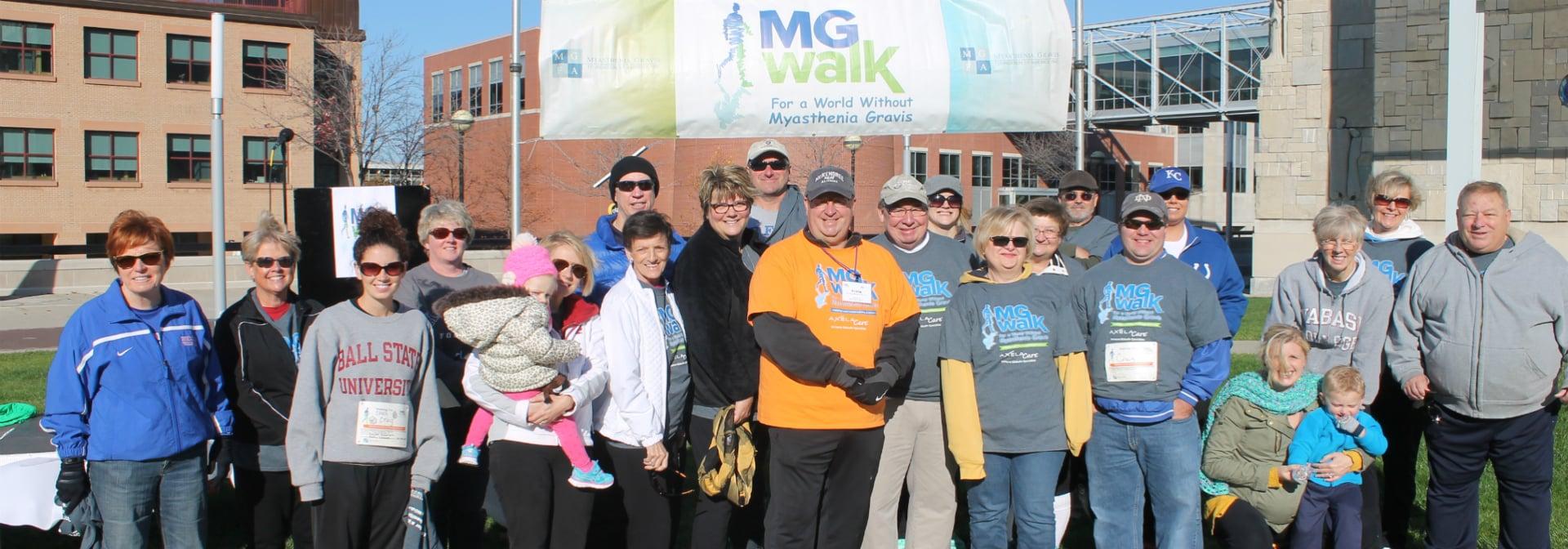 Indiana MG Walk