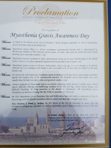 MG Awareness Day Proclamation